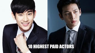 10 Highest Paid Korean Drama Actors | 2017