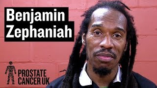 Benjamin Zephaniah on his connection to prostate cancer