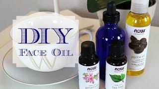 DIY   Face Oil!