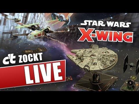 Xxx Mp4 Star Wars X Wing Miniaturenspiel Raumkampf Auf Dem Spieltisch C T Zockt LIVE 3gp Sex