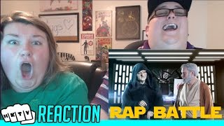 Star Wars Rap Battles Ep.2 - Palpatine vs Obi-Wan REACTION!!🔥