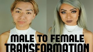 Male to Female Transformation! | Nyc Dragun