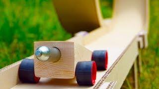DIY Hot Wheels Powered by CO2 Cartridge