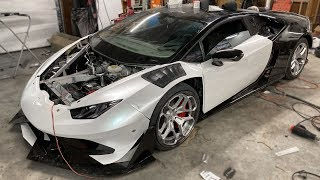 Burntacan Final Assembly, 3 Days, No Sleep, Finished Car!!!