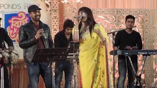 Amar gorur garite by Rajib & Nowreen Close up 1 singer - আমার গরুর গাড়িতে বউ সাজিয়ে live HD