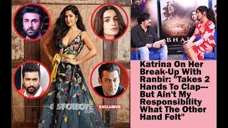 Exclusive: Katrina Kaif Interview On Ranbir, Alia ,Vicky & Salman Khan | SpotboyE