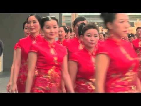 全球海外华人迪拜中华文化快闪