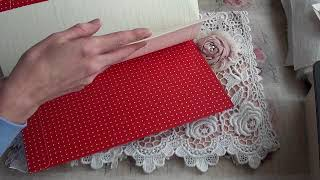 Chair Back Lace Pocket Book