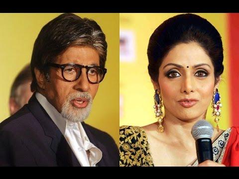 Sridevi Had Ego Tussle with Amitabh Bachchan
