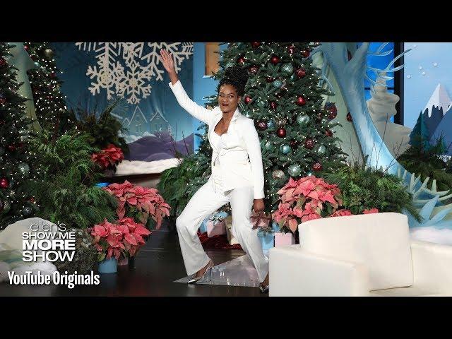 Ellen Gives Tiffany Haddish Her Dream Gift