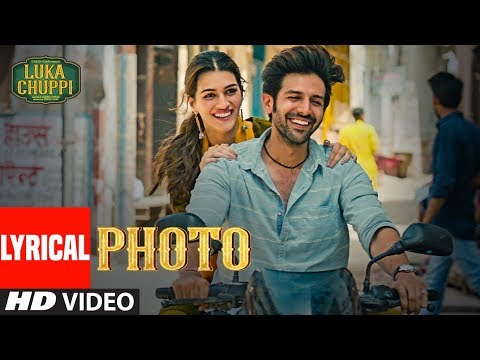 Xxx Mp4 LYRICAL Photo Song Luka Chuppi Kartik Aaryan Kriti Sanon Karan S Goldboy TanishkB Nirmaan 3gp Sex