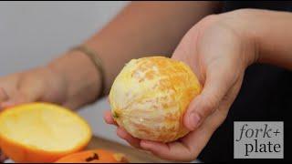 The Easiest Way to Peel an Orange