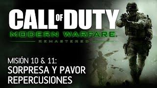 COD Modern Warfare Remastered - Misión 10 & 11: Sorpresa y Pavor, Repercusiones - Campaña en Español