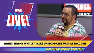 Unstoppable Wasp Writer Jeremy Whitley Previews the Return of Nadiavan Dyne at SDCC 2018