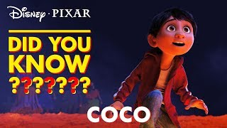 Pixar Did You Know? | Facts About Coco