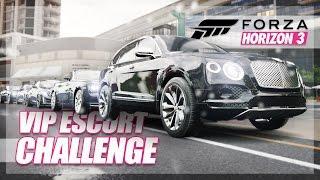 Forza Horizon 3 - VIP Escort Challenge! (Best Chauffeur Race)