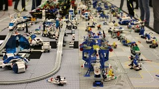 All LEGO Classic Space Sets on Display - 20 Years!