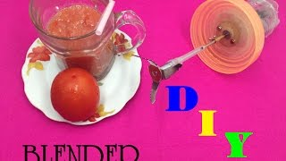 How to Make Hand Blender at home - Simple Way - Tutorial