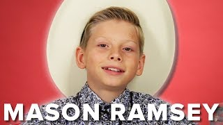 Mason Ramsey Answers Fan Questions (And Yodels!)