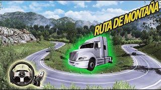 Ruta por la montaña en un pais lejano con International PROSTAR en Euro Truck Simulator 2
