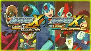 🔴 MEGA MAN X LEGACY COLLECTION X, X2, X3, X4, X5, X6, X8