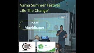 Йозеф Мюлбауер - Варненски институт за изследване на мира (летен фестивал Варна)