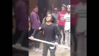 رقص دق فاجر معتصم فوكس فى تنجيد يوسف كابو2018