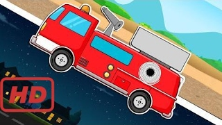Songs for kids |  Fire Truck | Learn Vehicles | Uses of Fire Truck Day And Night