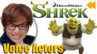 """""""Shrek"""" Voice actors and Characters"""