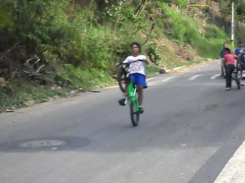 piques en bicicleta villaca