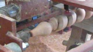 Arte en Torno - Torneado de espiral en madera