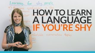 How to learn English if you are shy