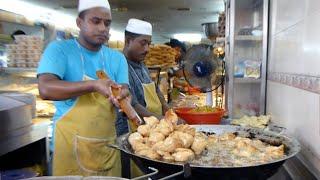 Making Bengali Curry Puff at Jalan Silang, KL