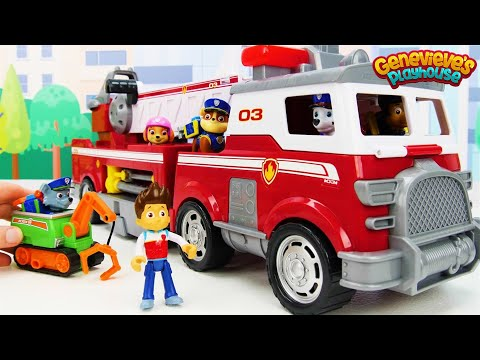 Xxx Mp4 Toy Learning Video For Kids With Paw Patrol Ultimate Rescue Vehicles 3gp Sex