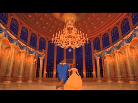La Bella y la Bestia escena del Baile