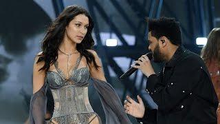 Bella Hadid & Ex The Weeknd REUNITE On The Runway At 2016 Victoria