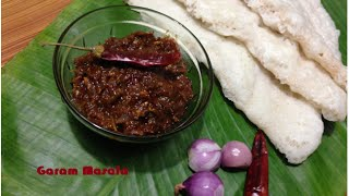 Ulli Chammanthi for dosa and vellayappam