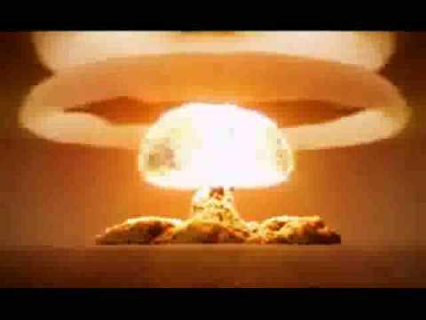 SONIDO Y EXPLOSION DE BOMBA NUCLEAR.