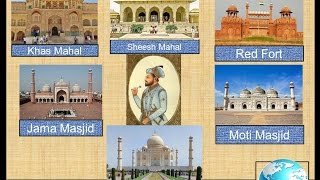 GK Tricks for Competitive Exam Famous sites of India founded by Shah Jahan in Hindi
