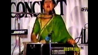 Jhoom Sharabi Munni Begum Live Programme   YouTube