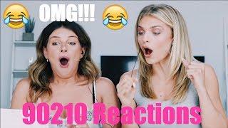 TBT - REACTION: 90210 SEASON 1 FINALE FIGHT SCENE   Shenae Grimes Beech & Annalynne Mccord