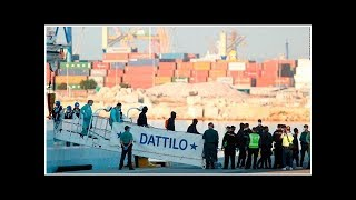 News Hundreds of migrants turned away by Italy start arriving in Spain