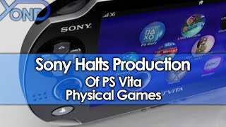 Sony Halting Production of PS Vita Physical Games