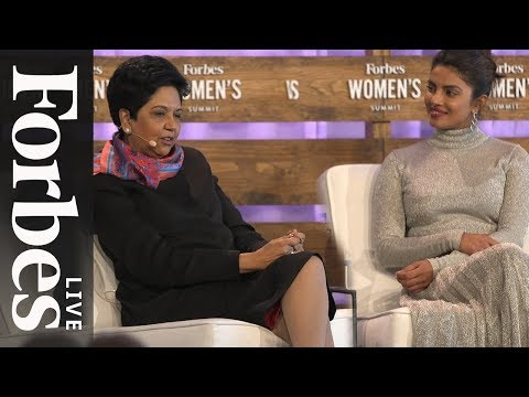 Xxx Mp4 Priyanka Chopra And Indra Nooyi On Breaking Barriers And Engaging Billions Forbes Live 3gp Sex