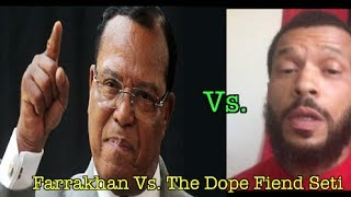 Sa Neter Gives Dope Fiend Sara Suten Seti A Reality Check For Disrespecting Minister Farrakhan