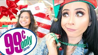 99 CENT HOLIDAY SHOPPING ADVENTURE!