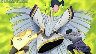 The final battle Kaguya Vs. Naruto,Sasuke,Sakura,Kakashi and obito