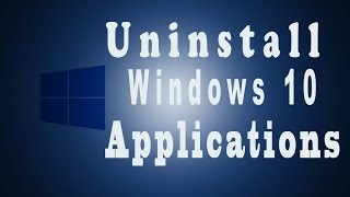 How to uninstall all apps on windows 10 | Bangla tutorial