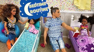 Barbie Sisters Bedtime Routine - Roblox, Brushing Teeth, Bubble Bath | Naiah and Elli Doll Show #3