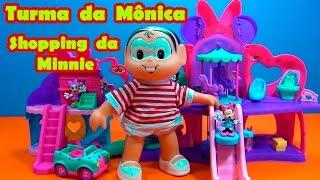 Turma da Mônica - Shopping da Minnie - Mônica ganha !!